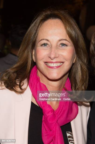 Segolene Royal attends 'La Fete Des Vendanges' at Dior Avenue Montaigne on September 14 2017 in Paris France