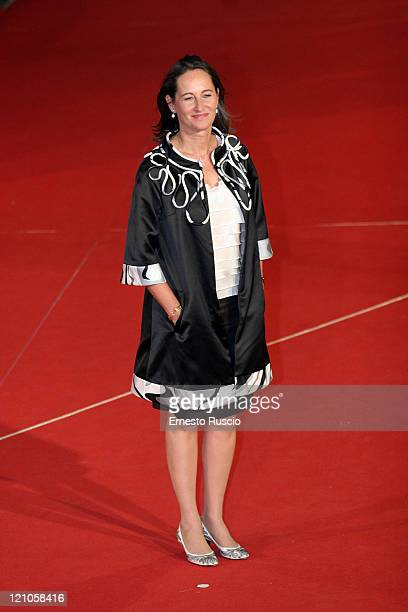 Segolene Royal attends the 'Elizabeth The Golden Age' premiere during the 2nd Rome Film Festival at the Auditorium of Rome October 19 2007 in Rome...