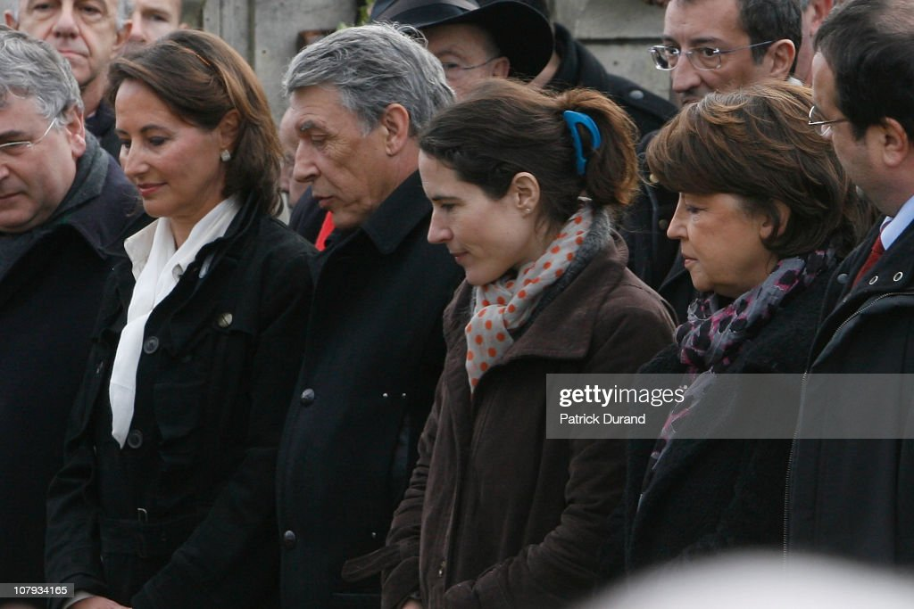 Ceremony Held For Late French President Francois Mitterrand