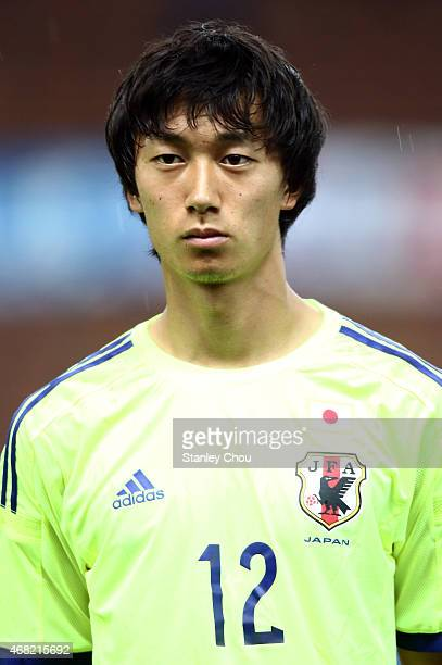 Sei Muroya of Japan during the AFC U23 Championship qualifier Group I match between Japan and Malaysia at Shah Alam Stadium on March 31 2015 in Shah...
