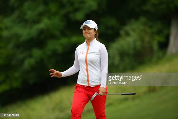 Sei Young Kim of South Korea during the final round of the Kingsmill Championship presented by JTBC on the River Course at Kingsmill Resort on May 21...
