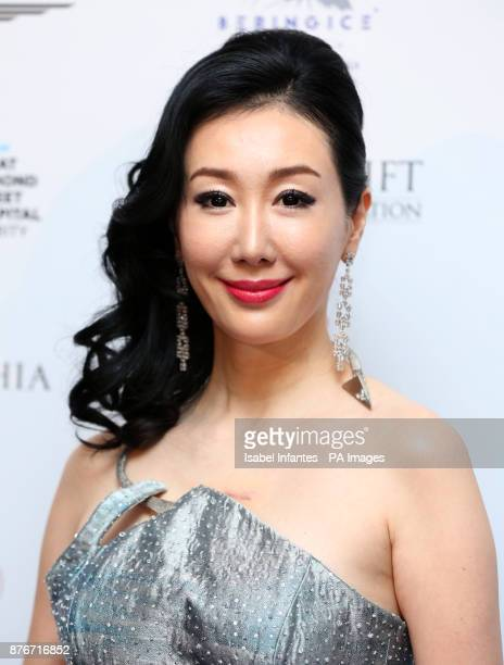 Seia Lee attending the Global Gift Gala held at The Corinthia Hotel in London PRESS ASSOCIATION Photo Picture date Saturday November 18 2017 Photo...