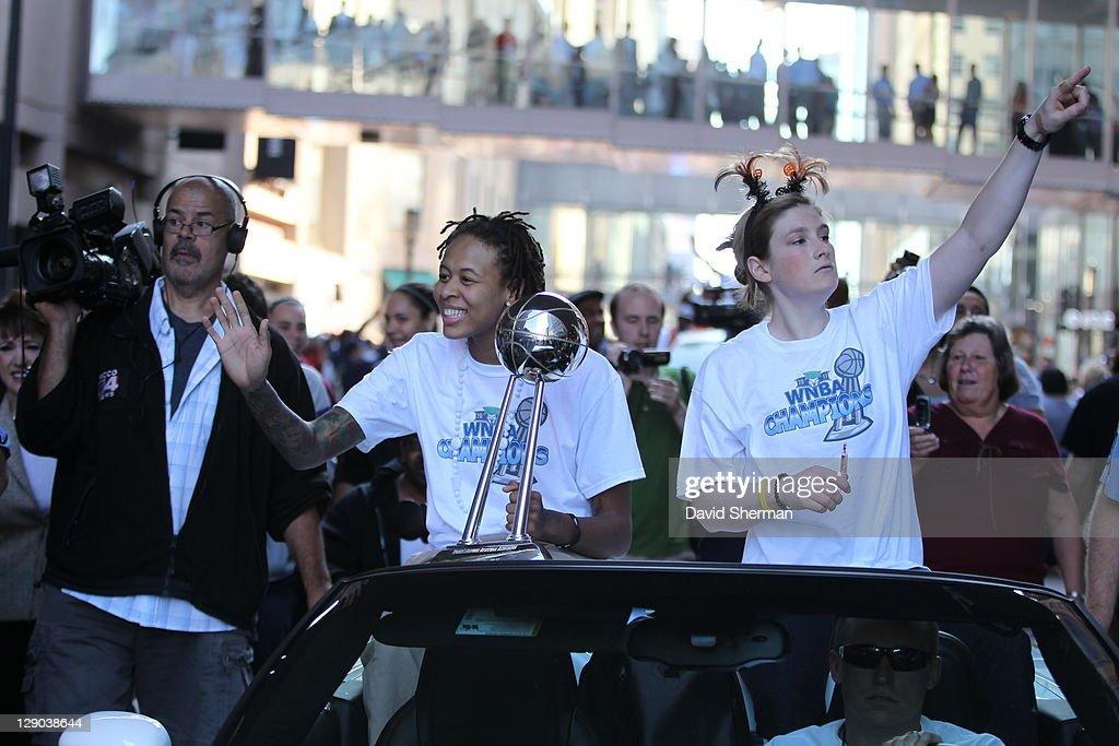 Minnesota Lynx WNBA Championship Parade And Celebration