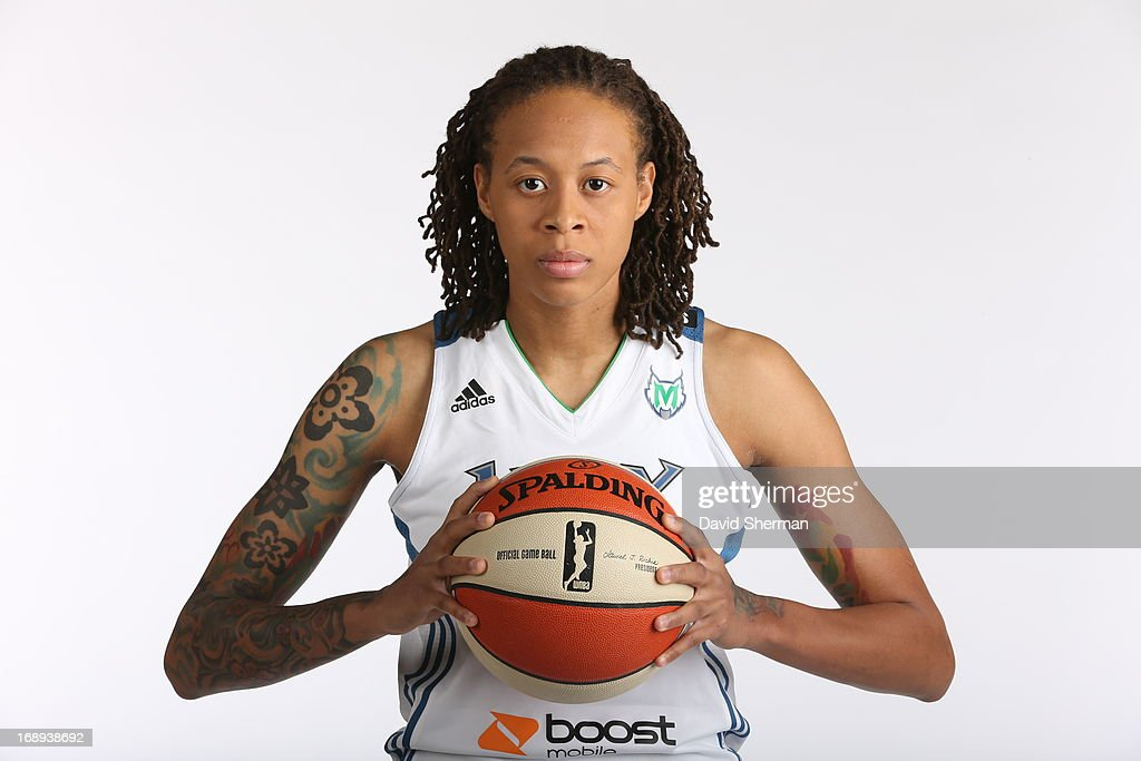 Seimone Augustus #33 of the Minnesota Lynx poses for portraits during 2013 Media Day on May 16, 2013 at the Minnesota Timberwolves and Lynx LifeTime Fitness Training Center at Target Center in Minneapolis, Minnesota.