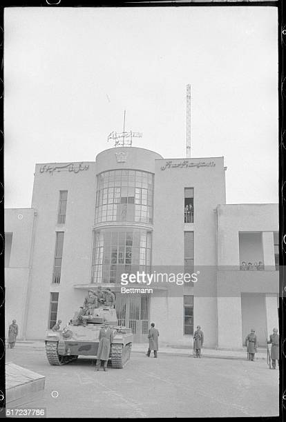 Seized by Royalists Tehran Iran This is Radio Tehran which was seized by Royalist forces who broadcast that Iran's nationalistic Premier Mohammed...