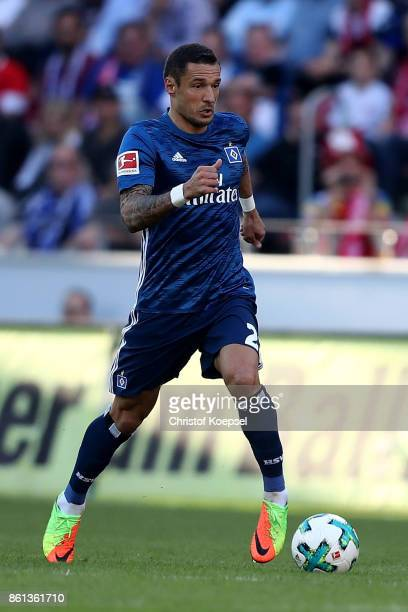 Sejad Sahilovic of Hamburger SV runs with the ball during the Bundesliga match between 1 FSV Mainz 05 and Hamburger SV at Opel Arena on October 14...