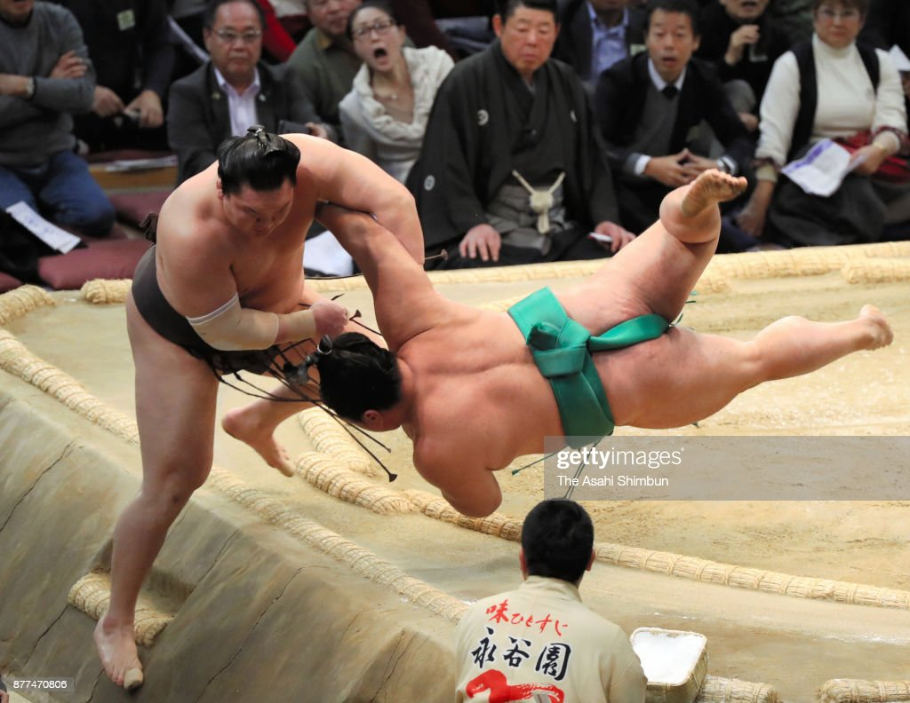 Grand Sumo Kyushu Tournament - Day 11
