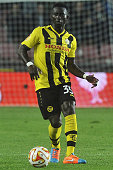 Sekou Sanogo Junior of BSC Young Boys in action during the UEFA Europa League Group I match between AC Sparta Praha and BSC Young Boys at the Stadion...