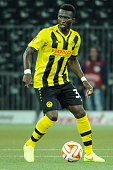 Sekou Sanogo of BSC Young Boys in action during the UEFA Europa League match between BSC Young Boys and SK Slovan Bratislava at the Stade de Suisse...
