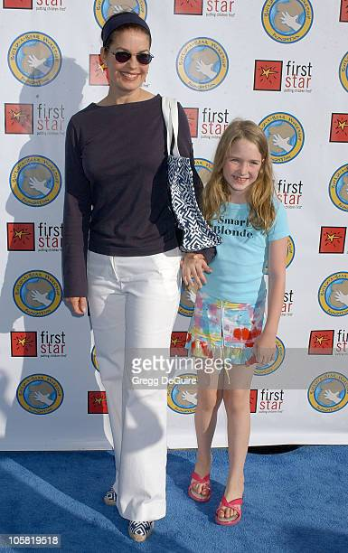 Sela Ward and daughter Anabelle during First Star's 'Celebration For Children's Rights' Benefit at Santa Monica Barker Hanger in Santa Monica...