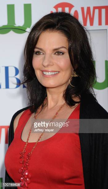 Sela Ward arrives at the TCA Party for CBS The CW and Showtime held at The Pagoda on August 3 2011 in Beverly Hills California
