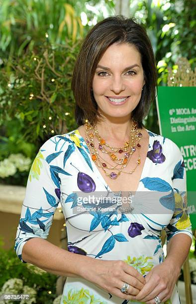 Sela Ward attends 6th MOCA Award Honoring Distinguished Women in the Arts Presented by BVLGARI at the Four Seasons Beverly Hills on April 28 2010 in...