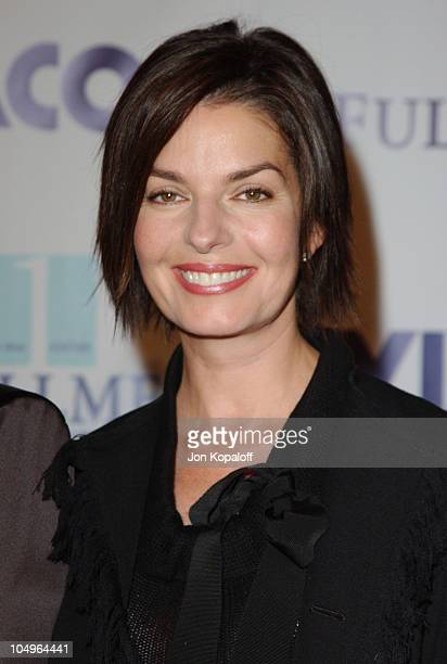 Sela Ward during 2003 Fulfillment Fund's Annual 'Stars 2003' Benefit Gala at Beverly Hilton Hotel in Beverly Hills California United States