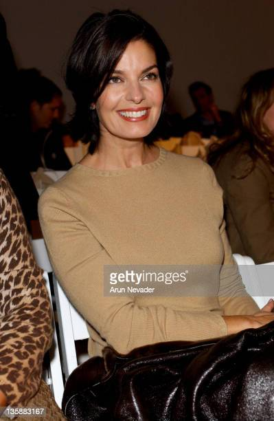 Sela Ward during MercedesBenz 2005 Spring Fashion Week at Smashbox Studios Kate O'Connor Front Row and Backstage at Smashbox Studios in Culver City...