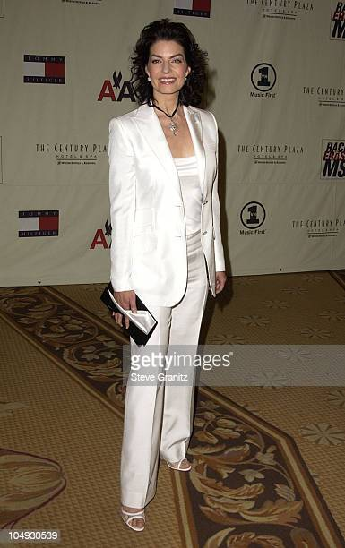 Sela Ward during The 9th Annual Race To Erase MS Dinner at Century Plaza in Century City California United States