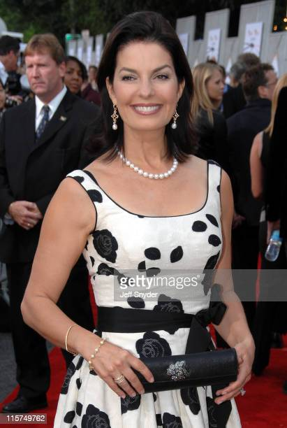 Sela Ward during 'The Guardian' Premiere to benefit the United States Coast Guard Foundation at The Uptown Theatre in Washington DC
