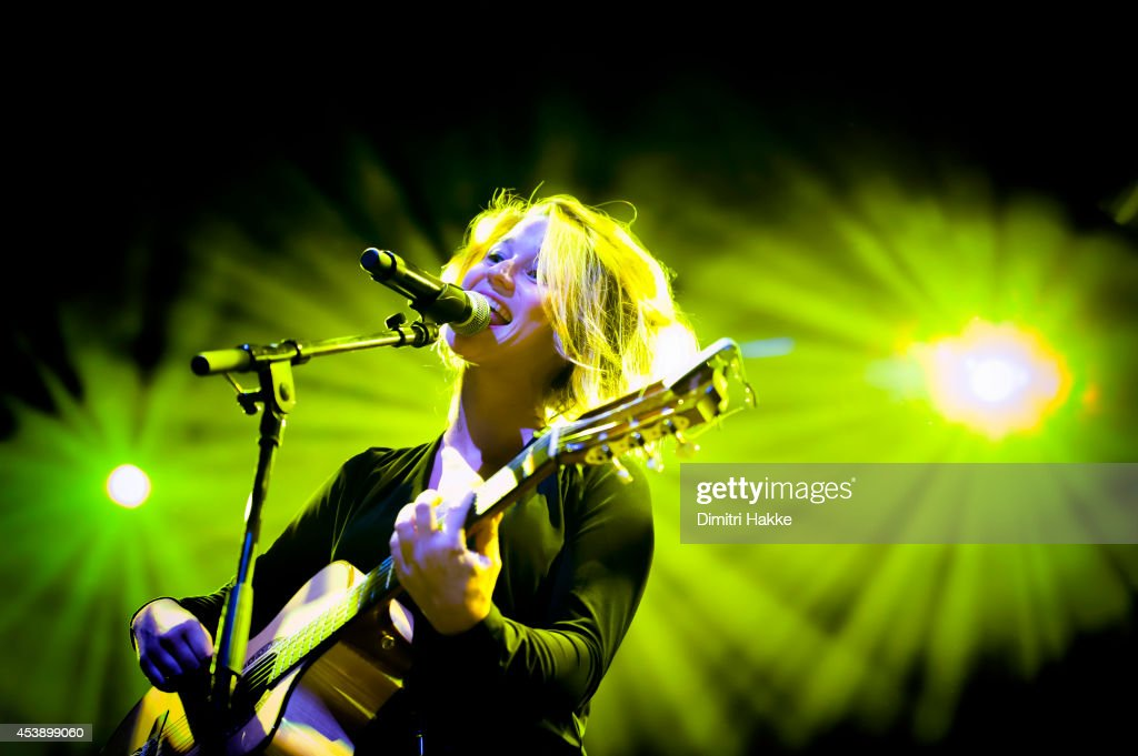 <a gi-track='captionPersonalityLinkClicked' href=/galleries/search?phrase=Selah+Sue&family=editorial&specificpeople=5858627 ng-click='$event.stopPropagation()'>Selah Sue</a> performs on stage at Lowlands Festival at Evenemententerrein Walibi World on August 16, 2014 in Biddinghuizen, Netherlands.