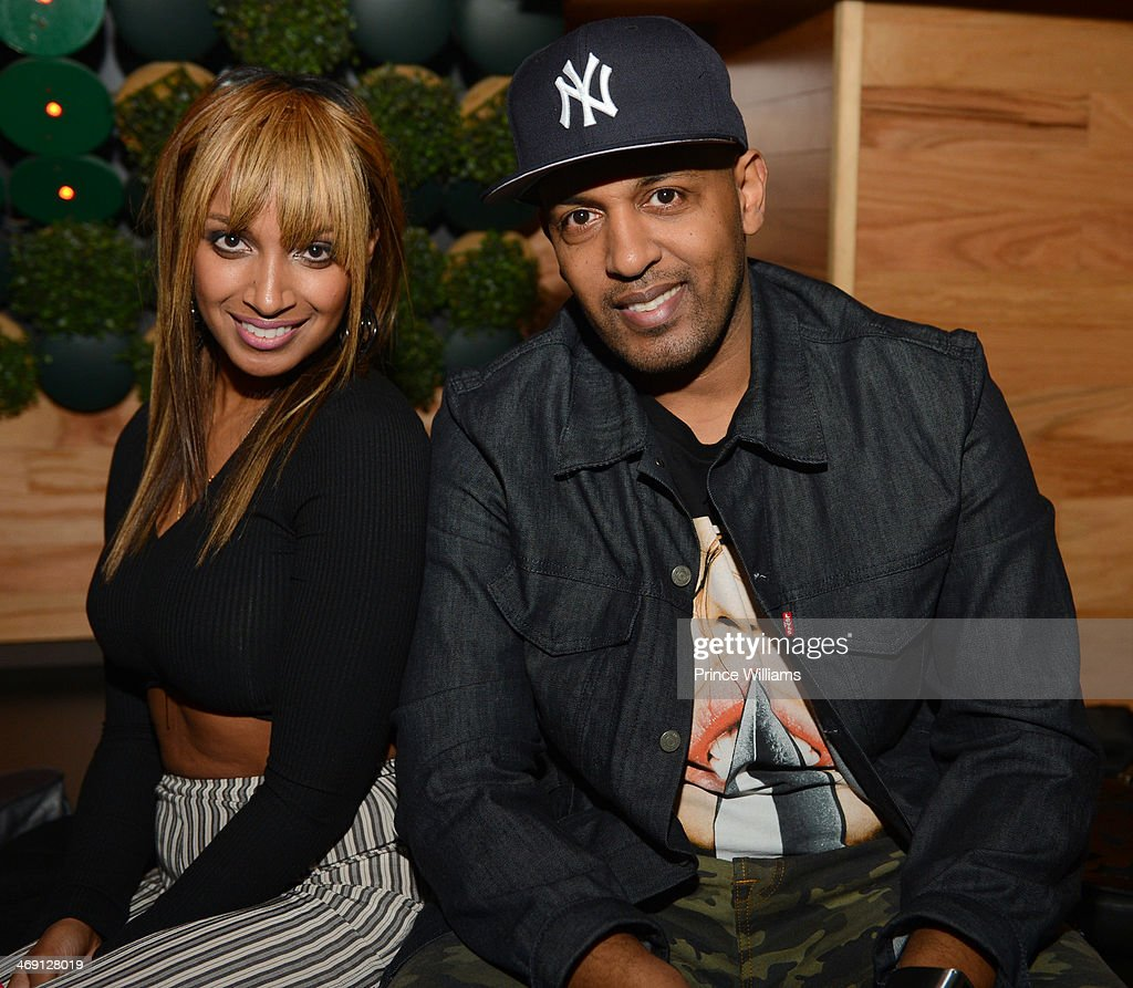Selam Gidewon and Michael Gidewon attend Young Jeezy And Victor Cruz's Post Super Bowl Party at Greenhouse on February 2, 2014 in New York City.