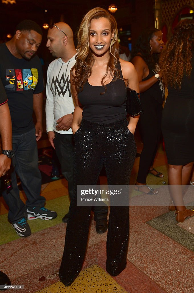 Selam Gidewon attends Jeezy Presents TM101 10 Year Anniversary at The Fox Theatre on July 25 2015 in Atlanta Georgia