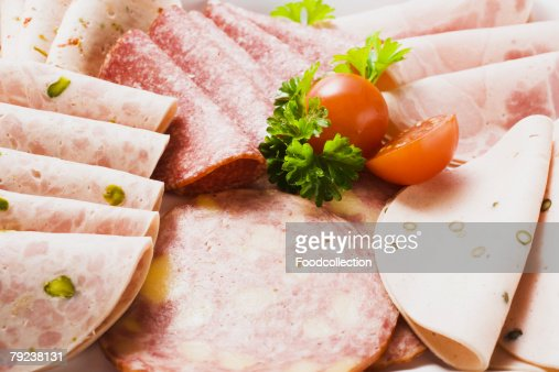 A selection of cold cuts