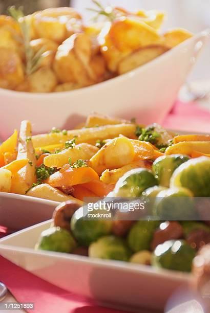 Choix de légumes cuits