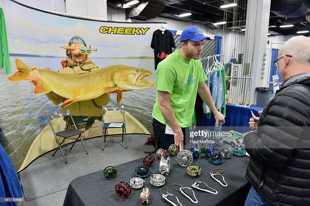 The marlborough ma 2015 fly fishing show getty images for Fish marlborough ma