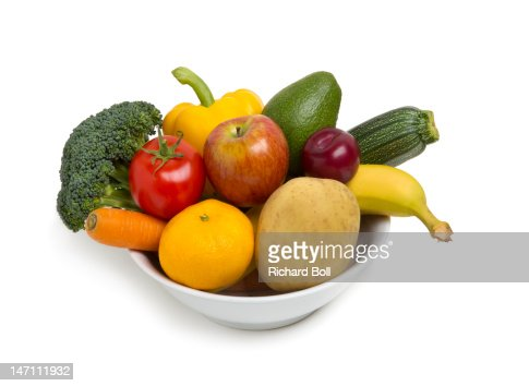 fruit bowl fruit and vegetable diet