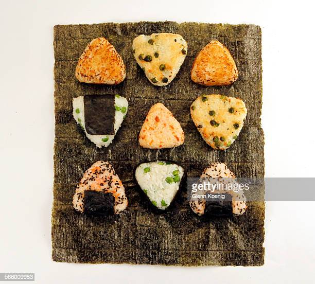 A selection of Onigiri was photographed at the Los Angeles Times Studio on May 11 2011