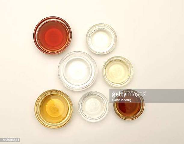 A selection of Vinegars that was photographed at the Los Angeles Times photo studio on July 21 2011