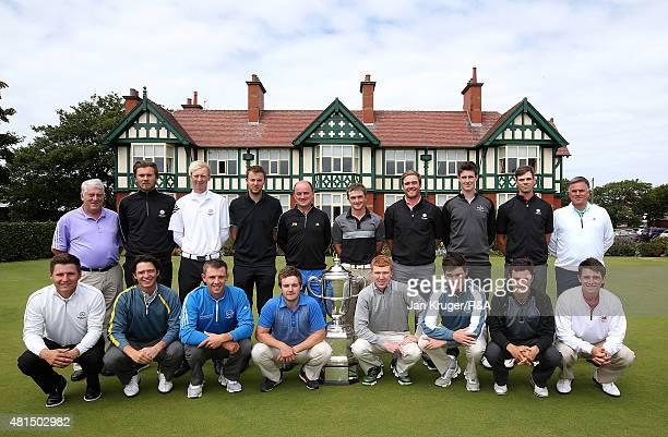 Selector Michael Burns Daniel Brown Jimmy Mullen Ashley Chesters Great Britain and Ireland Walker Cup Captain Nigel Edwards Paul Dunne Ben Taylor...