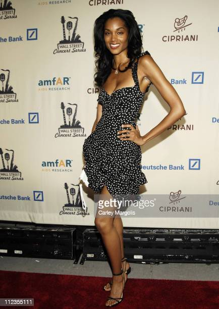 Selena during 2006 Cipriani/Deutsche Bank Concert Series Featuring Kanye West Benefitting amfAR at Cipriani Wall Street in New York City New York...