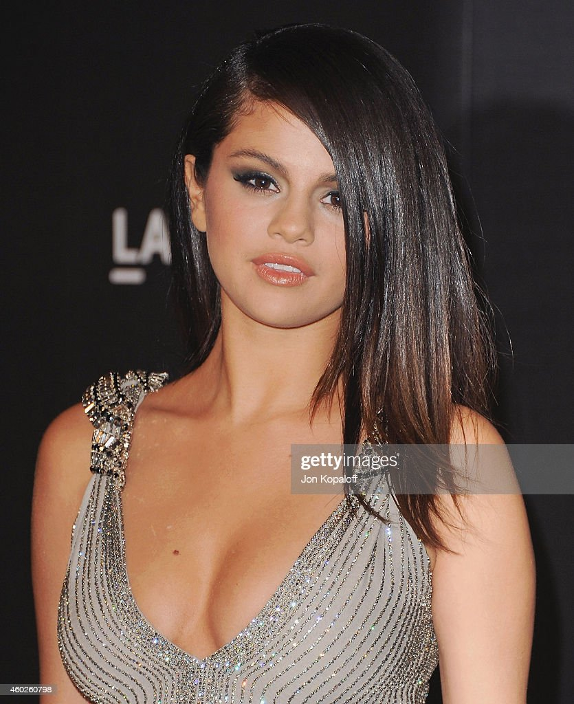 Selena Gomez arrives at the 2014 LACMA Art + Film Gala Honoring Quentin Tarantino And Barbara Kruger at LACMA on November 1, 2014 in Los Angeles, California.