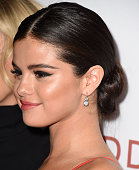 Selena Gomez arrives at the 'Rudderless' Los Angeles VIP Screening at the Vista Theatre on October 7 2014 in Los Angeles California