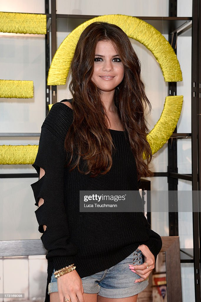 Selena Gomez attends a photocall to launch the Selena Gomez by adidas NEO collection on July 9, 2013 in Berlin, Germany.