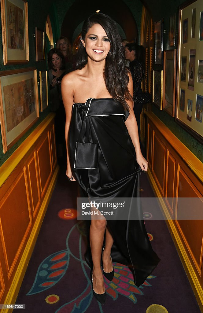 <a gi-track='captionPersonalityLinkClicked' href=/galleries/search?phrase=Selena+Gomez&family=editorial&specificpeople=4295969 ng-click='$event.stopPropagation()'>Selena Gomez</a> attends Annabel's for an intimate dinner and exclusive performance with <a gi-track='captionPersonalityLinkClicked' href=/galleries/search?phrase=Selena+Gomez&family=editorial&specificpeople=4295969 ng-click='$event.stopPropagation()'>Selena Gomez</a> at Annabel's on September 24, 2015 in London, England.