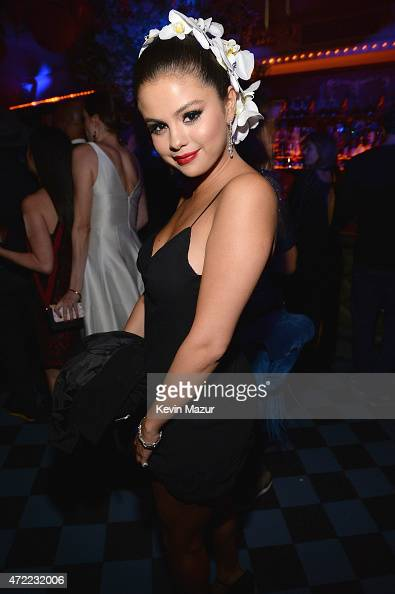Selena Gomez attends Rihanna's private Met Gala after party at Up Down on May 4 2015 in New York City