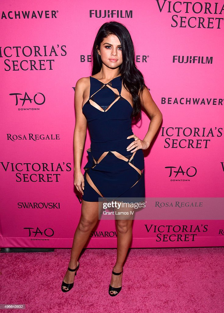 <a gi-track='captionPersonalityLinkClicked' href=/galleries/search?phrase=Selena+Gomez&family=editorial&specificpeople=4295969 ng-click='$event.stopPropagation()'>Selena Gomez</a> attends the 2015 Victoria's Secret Fashion After Party at TAO Downtown on November 10, 2015 in New York City.