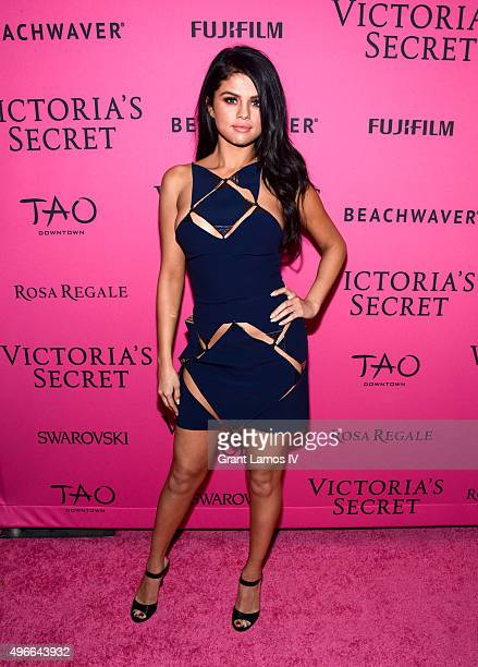 Selena Gomez attends the 2015 Victoria's Secret Fashion After Party at TAO Downtown on November 10 2015 in New York City