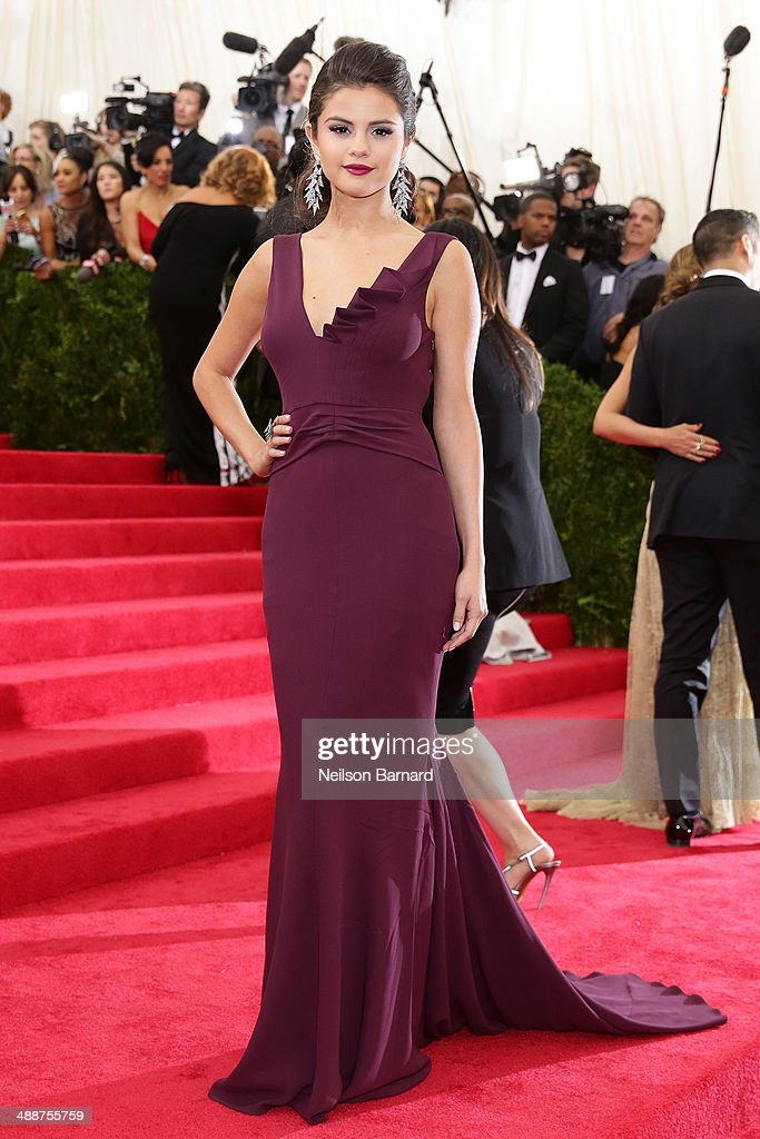 Selena Gomez attends the 'Charles James: Beyond Fashion' Costume Institute Gala at the Metropolitan Museum of Art on May 5, 2014 in New York City.