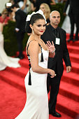 Selena Gomez attends the 'China Through The Looking Glass' Costume Institute Benefit Gala at the Metropolitan Museum of Art on May 4 2015 in New York...