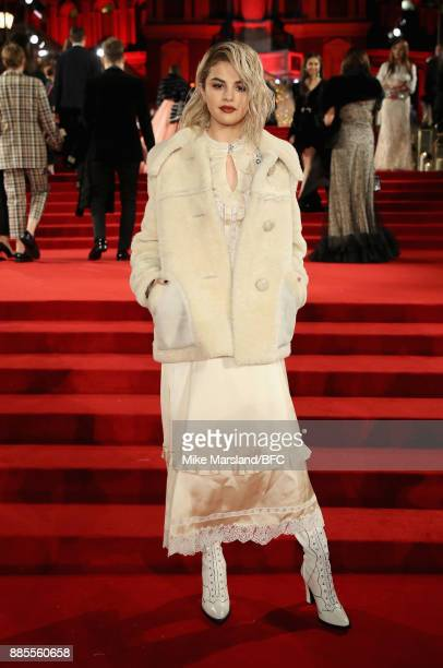 Selena Gomez attends The Fashion Awards 2017 in partnership with Swarovski at Royal Albert Hall on December 4 2017 in London England