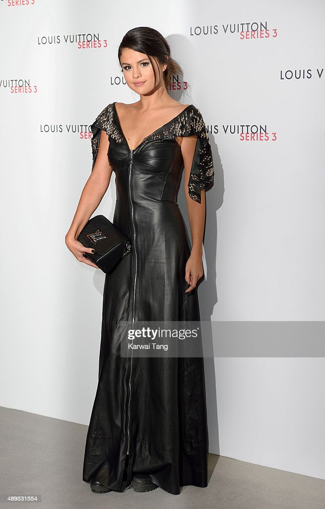 Selena Gomez attends the Louis Vuitton Series 3 VIP Launch on September 20, 2015 in London, England.