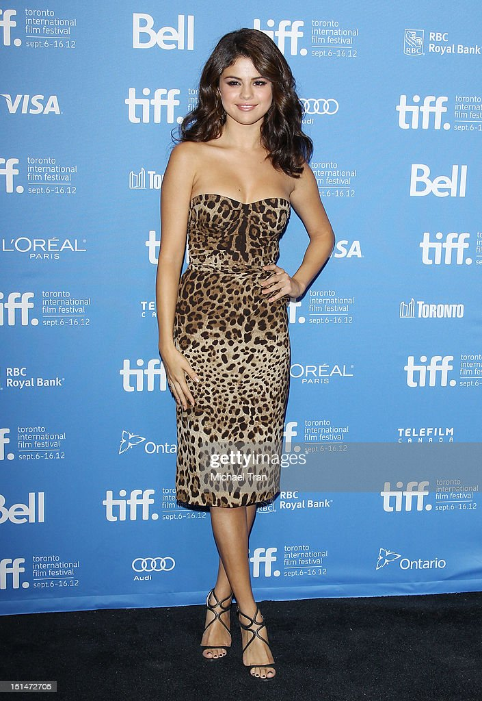 Selena Gomez attends the 'Spring Breakers' photo call during the 2012 Toronto International Film Festival held at TIFF Bell Lightbox on September 7...