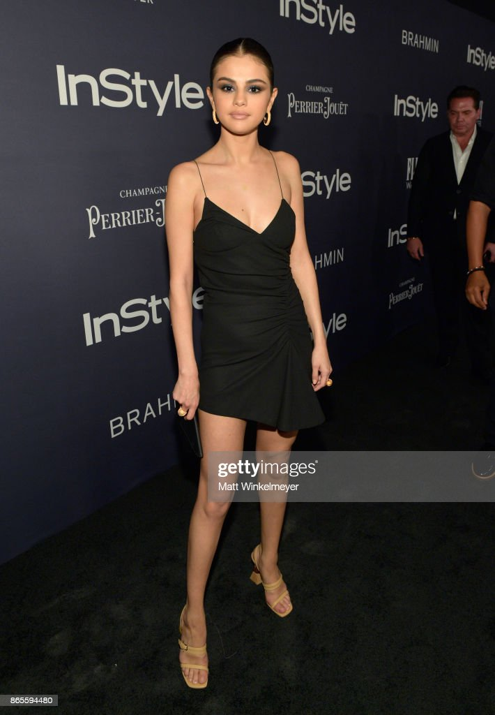 Selena Gomez attends the Third Annual 'InStyle Awards' presented by InStyle at The Getty Center on October 23, 2017 in Los Angeles, California.