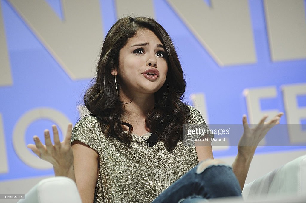 <a gi-track='captionPersonalityLinkClicked' href=/galleries/search?phrase=Selena+Gomez&family=editorial&specificpeople=4295969 ng-click='$event.stopPropagation()'>Selena Gomez</a> attends the Viacom Seminar as part of Cannes Lions 59th International Festival of Creativity at Palais des Festivals on June 21, 2012 in Cannes, France.