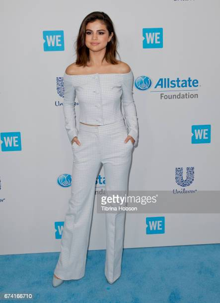 Selena Gomez attends 'We Day' California 2017 at The Forum on April 27 2017 in Inglewood California