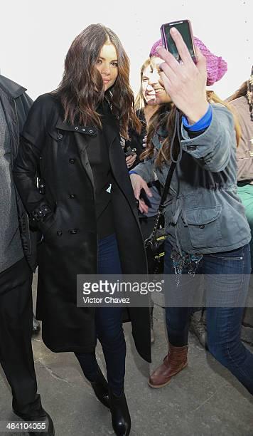 Selena Gomez is seen at the 2014 Sundance Film Festival on January 20 2014 in Park City Utah