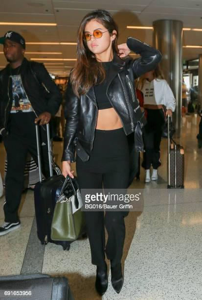Selena Gomez is seen on June 02 2017 in Los Angeles California