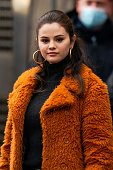Celebrity Sightings In New York City - February 23, 2021