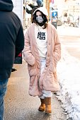 Celebrity Sightings In New York City - February 20, 2021